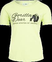 Lodi T-shirt - Lichtgeel