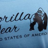 Lodi T-shirt - Light Blue - Detail