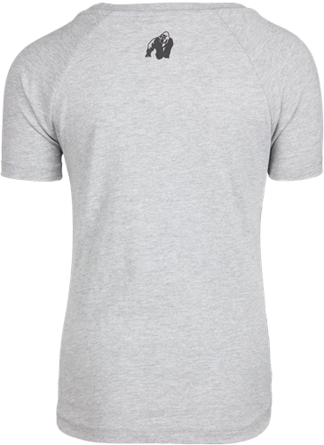 Lodi T-shirt - Lichtgrijs-2