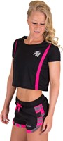 Columbia Crop Top Black/Pink