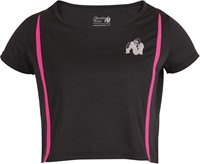 Columbia Crop Top Black/Pink-2