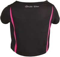 Columbia Crop Top Black/Pink-3