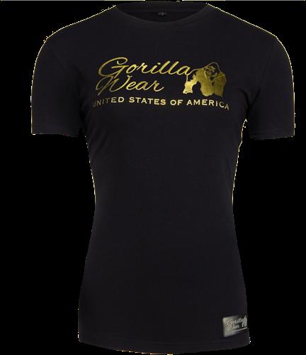 Luka T-shirt - Zwart/Goud