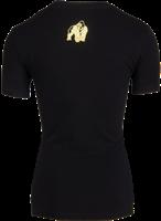 Luka T-shirt - Zwart/Goud-2