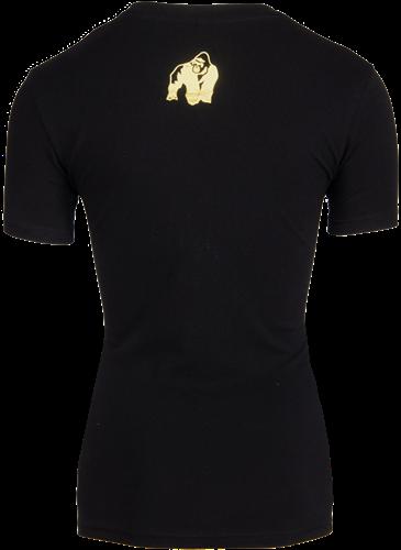 Luka T-shirt - Black/Gold-2