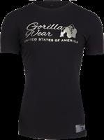 Luka T-shirt - Zwart/Zilver