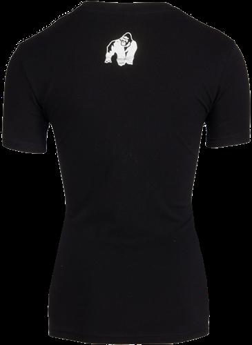 Luka T-shirt - Black/Silver-2