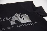 Luka T-shirt - Black/Silver-3