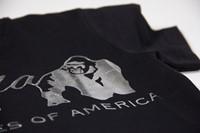 Luka T-shirt - Black/Silver - Detail