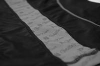 Carlin Compression Short Sleeve Top - Black/Gray - Detail