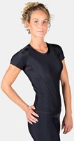Carlin Compression Korte Mouwen Top - Zwart -3
