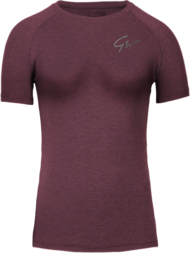 Holly T-shirt - Bordeaux Rood