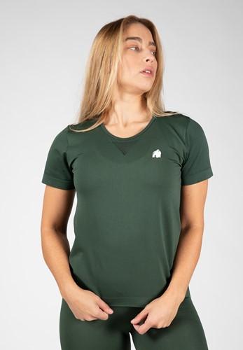 Neiro Seamless T-Shirt - Legergroen