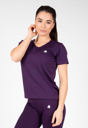 Neiro Seamless T-Shirt - Paars