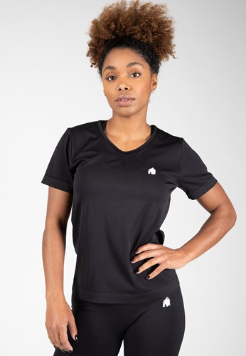 Neiro Seamless T-Shirt - Zwart