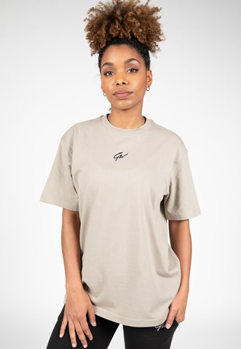Bixby Oversized T-Shirt - Beige