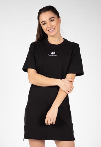 Neenah T-Shirt Jurk - Zwart