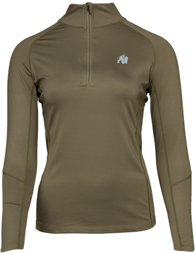 Melissa Long Sleeve - Legergroen