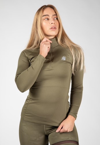 Melissa Long Sleeve - Army Green