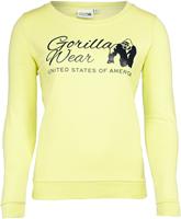 Riviera Sweatshirt - Lichtgeel