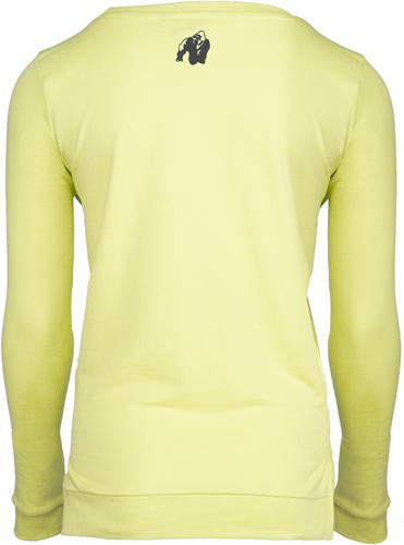 Riviera Sweatshirt - Lichtgeel-2
