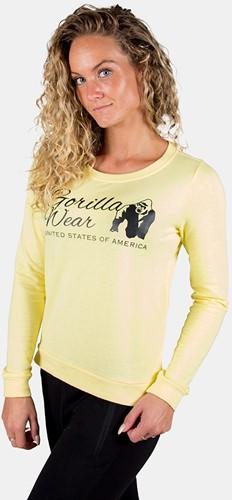 Riviera Sweatshirt - Light Yellow