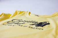 Riviera Sweatshirt - Light Yellow - Detail