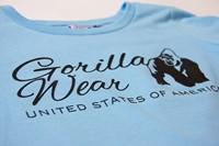 Riviera Sweatshirt - Light Blue - Detail