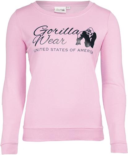 Riviera Sweatshirt - Lichtroze