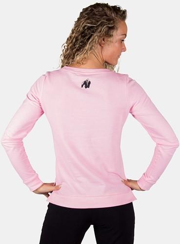 Riviera Sweatshirt - Light Pink-2