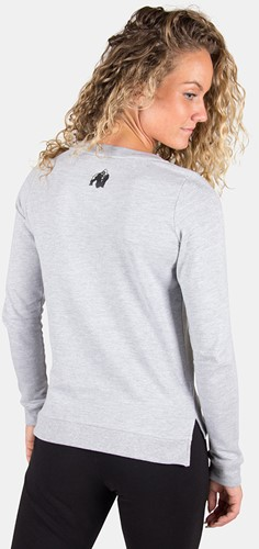 Riviera Sweatshirt - Light Gray-2