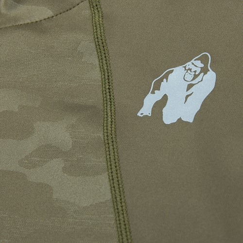 Savannah Jacket - Army Green Camo - Detail
