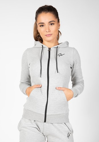 Pixley Zipped Hoodie - Gray