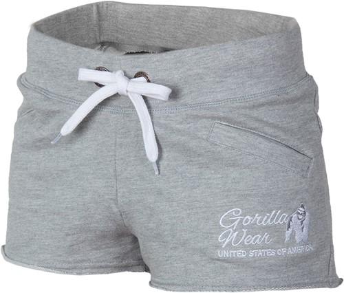 Women's New Jersey Sweat Shorts - Grijs
