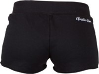 Women's New Jersey Sweat Shorts Black-2