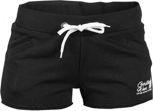 Women's New Jersey Sweat Shorts - Zwart
