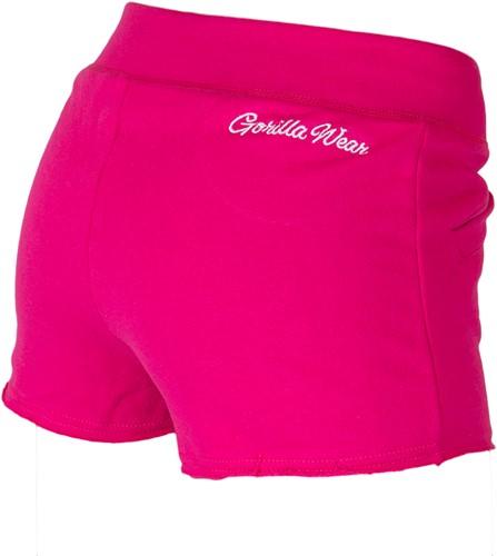 Women's New Jersey Sweat Short - Roze-2