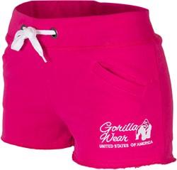 Women's New Jersey Sweat Shorts Pink