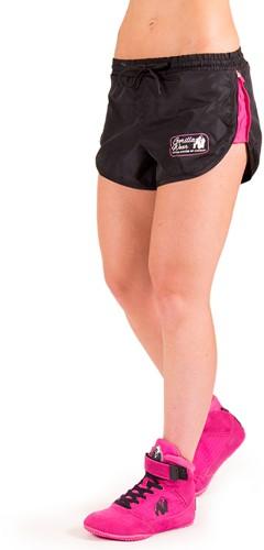 Women's New Mexico Cardio Shorts - Zwart/Roze