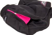 Women's New Mexico Cardio Shorts - Zwart/Roze -3
