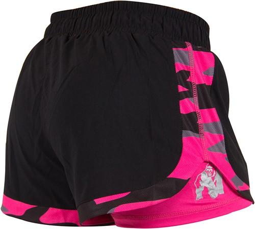 Denver Shorts - Zwart/Roze-2