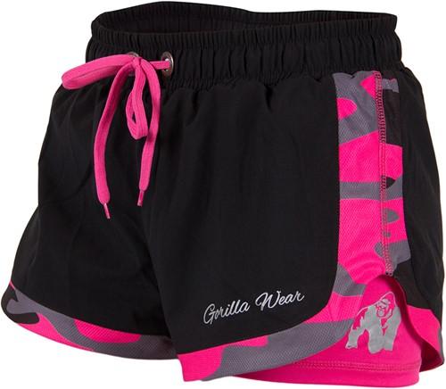 Denver Shorts - Zwart/Roze