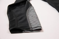 Carlin Compression Tight - Black/Gray - Detail