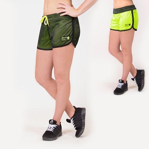 Madison Omkeerbare Shorts - Zwart/Neon lime
