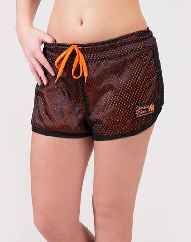 Madison Omkeerbare Shorts - Zwart/Neon Oranje-2