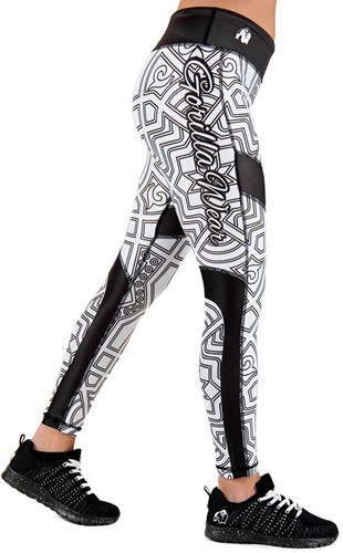 Pueblo Tights - Black/White