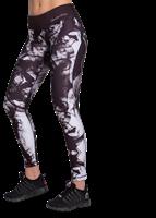 Phoenix tights - Zwart/Wit