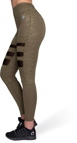 Savannah Biker Tights - Army Green Camo-3