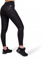 Savannah Biker Tights - Black Camo-2