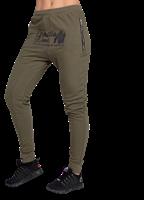 Celina Drop Crotch Joggingsbroek - Legergroen